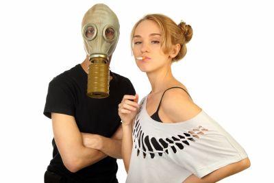 פרידה מבן/בת הזוג בגלל העישון