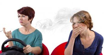 קשיי נשימה לאחר עישון