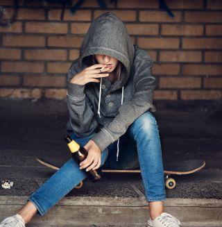 סיבה לכך שילדים מתחילים לעשן